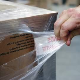 Ruban adhésif imprimé bande de garantie spécial film étirable