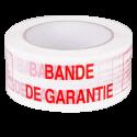 Ruban adhésif imprimé standard (fragile, bande de garantie, etc.)