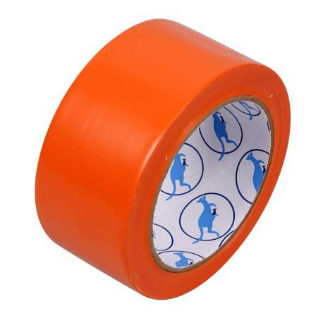 Ruban adhésif de protection PVC orange
