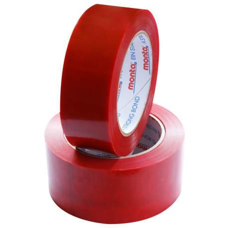 Ruban adhésif PVC rouge - thermoformage
