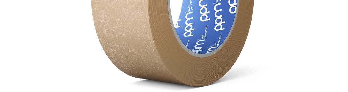 Ruban adhésif papier kraft