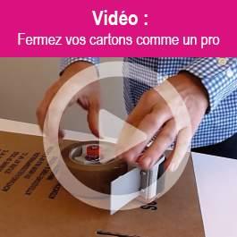 Comment fermer un carton comme un pro