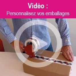 Personnaliser un emballage